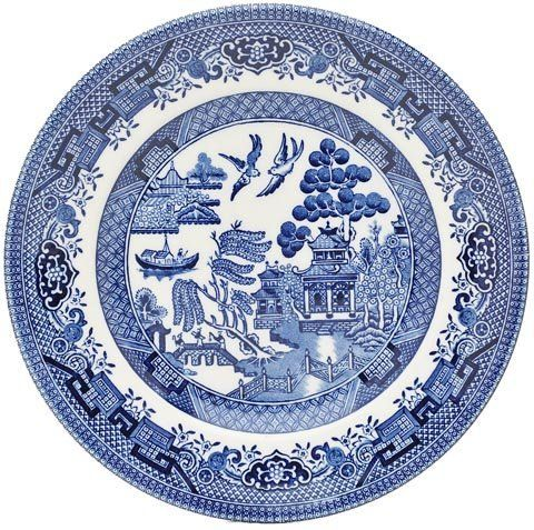 Churchill Blue Willow Plate 6 5 Set Of 6 By Churchill China England 56 65 Dishwasher Microwave Safe Blue Willow China Blue Willow Blue Willow Dishes