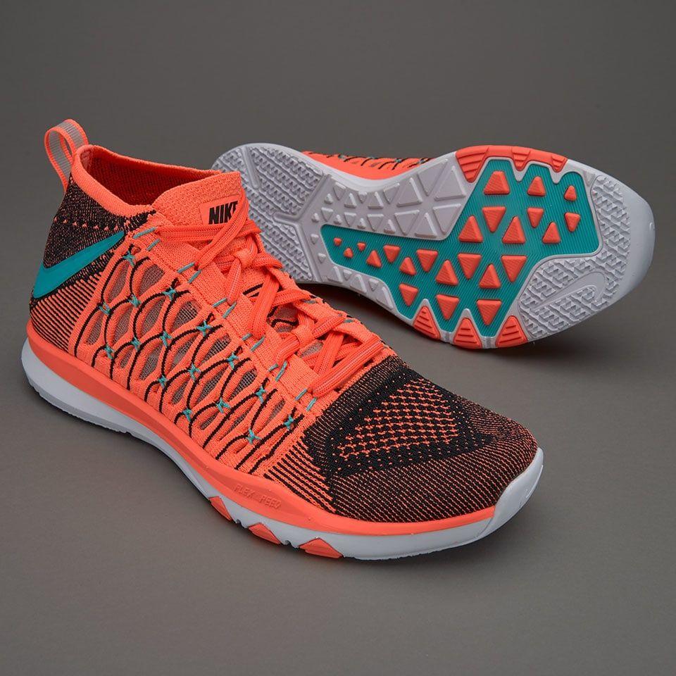 new product 1281d 77099 Nike Train Ultrafast Flyknit - Bright Mango Hyper Jade
