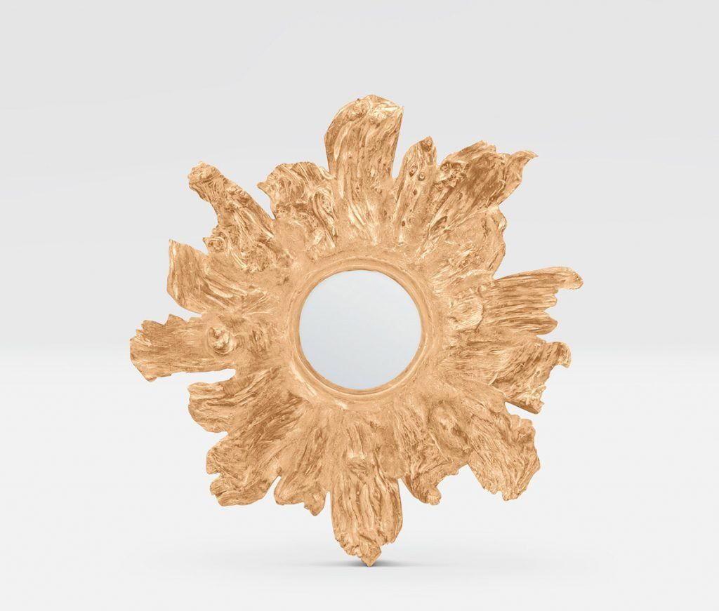 Floris Wall Mirror Gold | Round mirrors, Accent pieces and Walls