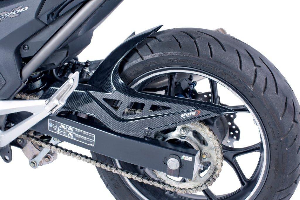 Honda Nc700s Nc700x 12 13 Rear Hugger Carbon Look M6038c Ebay Honda Motorcycle Performance Parts