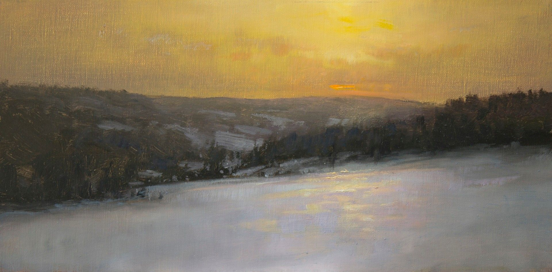 John macdonald greylock gallery winter painting