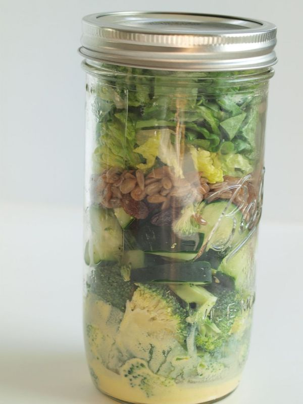 Mason jar salad recipe. Get 5 mason jar salad recipes. These are a great idea for make-ahead lunches that are light and healthy. Grocery list included!
