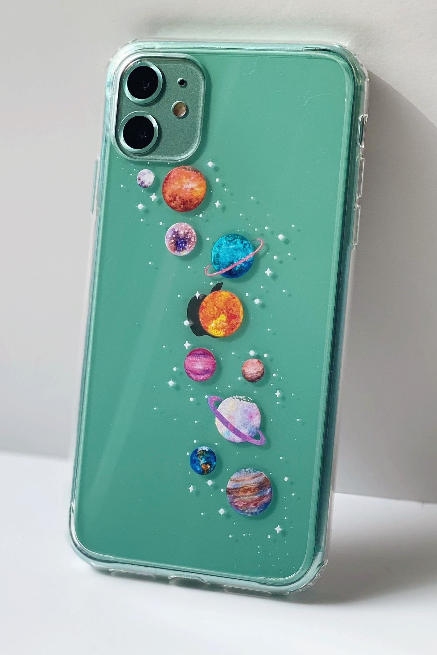 Galaxy Planets Phone Case Space Cover For Iphone 12 11 Pro Xs Etsy Phone Case Diy Paint Diy Phone Case Apple Phone Case