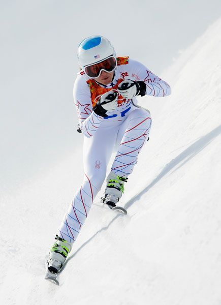 EDGING!!! Julia Mancuso 2014 in Sochi