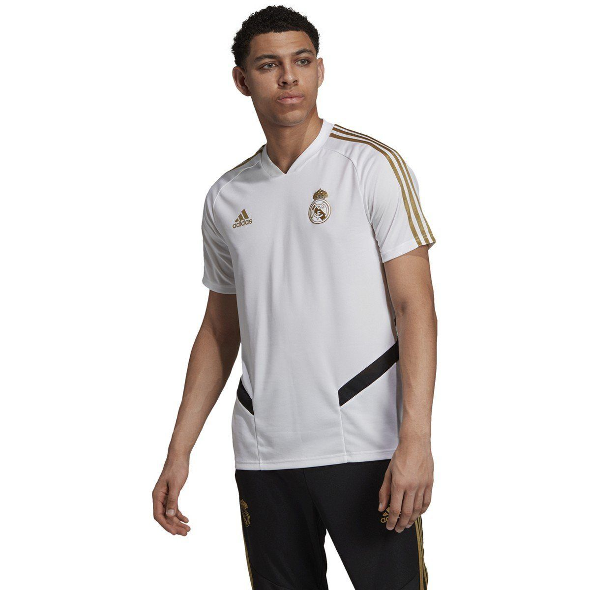Adidas Men S Real Madrid Training Jersey Dx7849 In 2020 Real Madrid Training Real Madrid Adidas Men