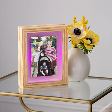 Long Distance Friendship Lamp Wi Fi Touch Lights The Perfect Long Distance Gift Uncommon Goods In 2020 Long Distance Friendship Frame Photo Frames