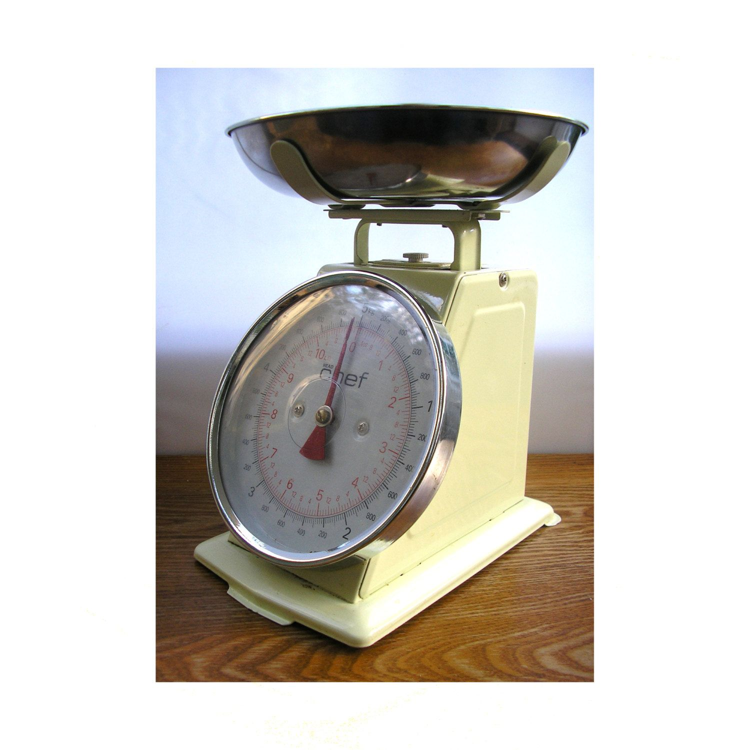 Vintage Scales Made In Uk Large Kitchen Scales Bakeware Cookware