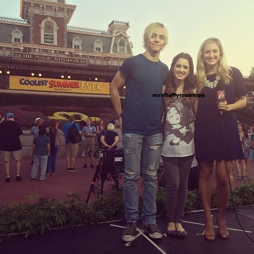 Laura Marano and Ross Lynch at Coolest Summer Ever May 22,2015