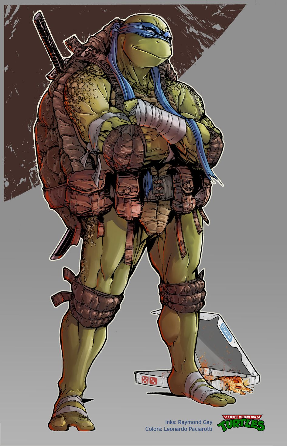 TMNT Leonardo. by le0arts.deviantart.com on @DeviantArt