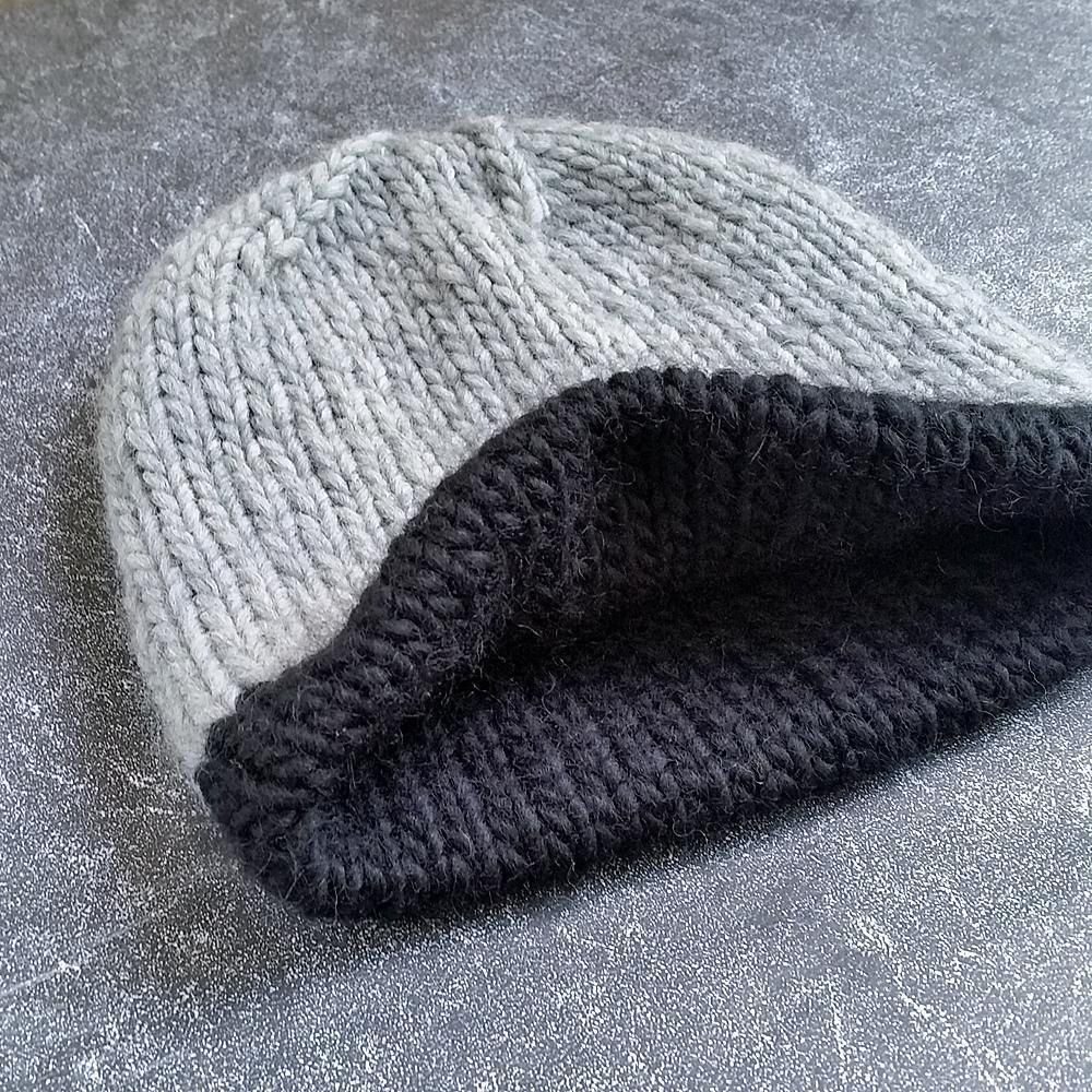 Chunky Double Hat - HORIZON Knitting pattern by ...