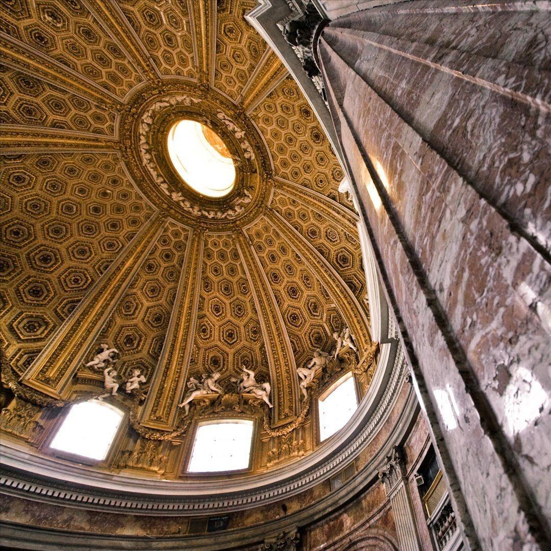 Pin By Adil Taj On Ceiling In 2019: Sant' Andrea Al Quirinale, Rome