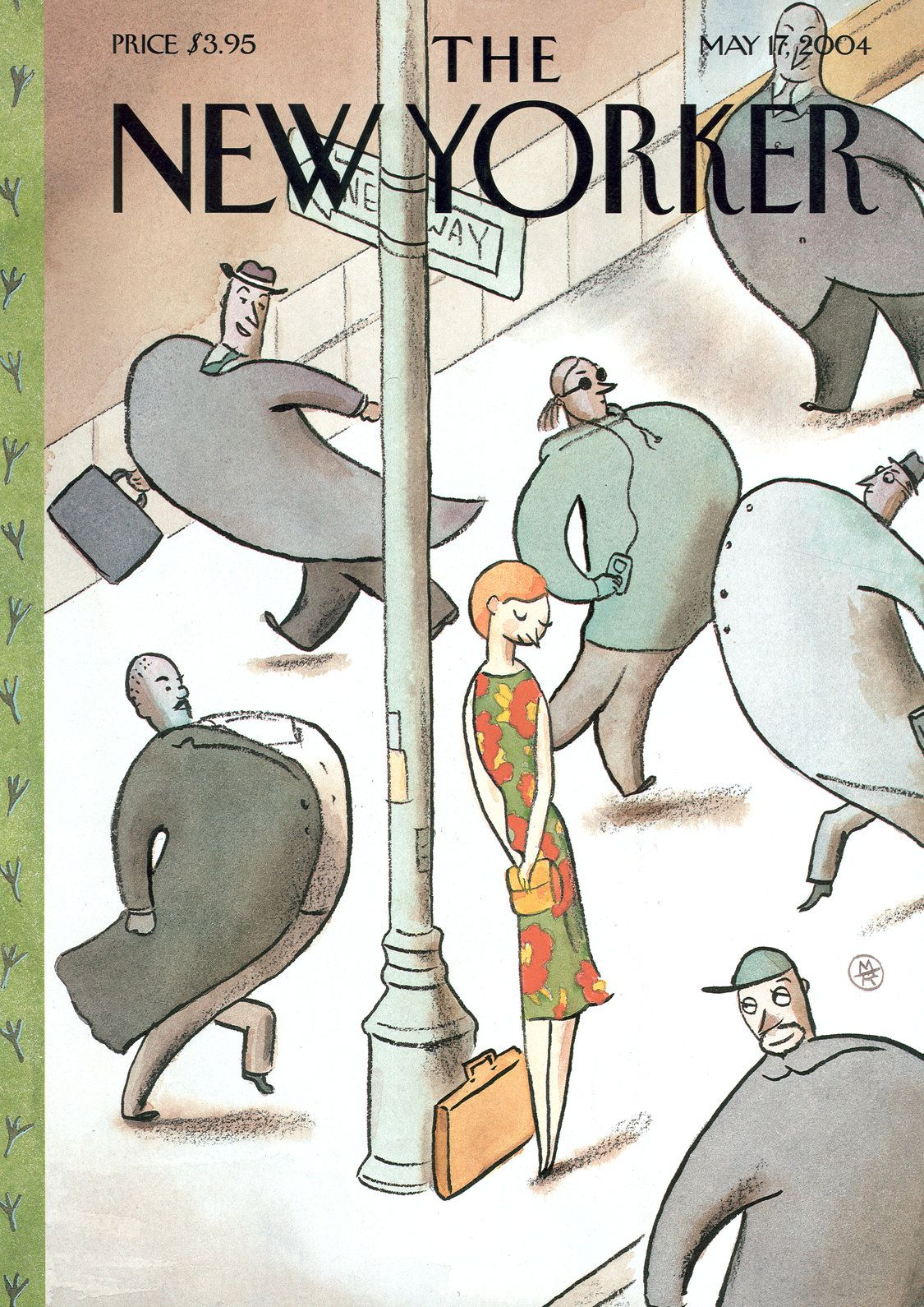 """The New Yorker - Monday, May 17, 2004 - Issue # 4075 - Vol. 80 - N° 12 - Cover """"Spring Ritual"""" by Marc Rosenthal"""