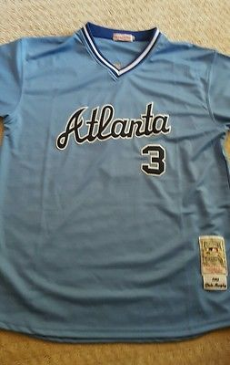 cheaper f3f24 39506 Atlanta Braves Jersey. Cooperstown Collection. Dale Murphy ...