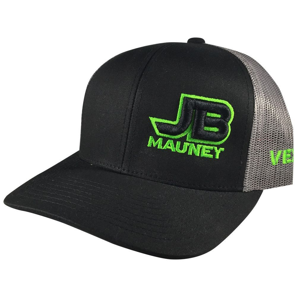 JB Mauney - SnapBack - Black Grey Lime  755ab83f0f0