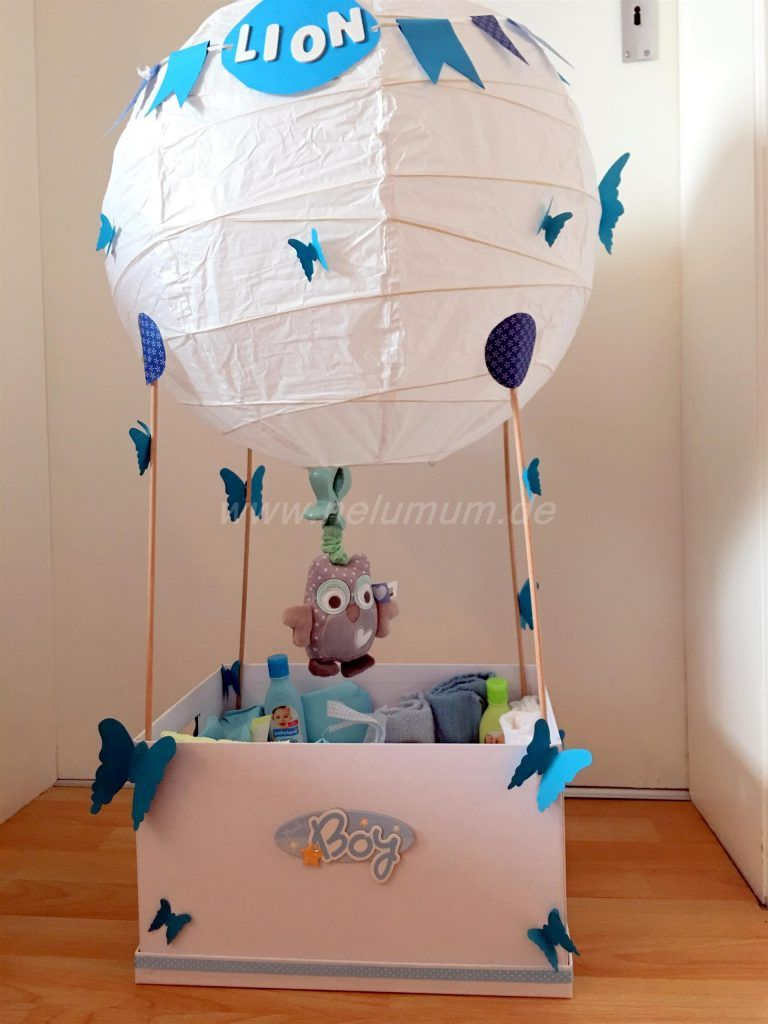 hei luftballon zur geburt diy pinterest geschenke zur geburt zur geburt und. Black Bedroom Furniture Sets. Home Design Ideas