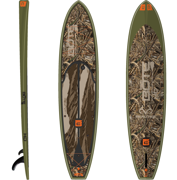 Bote Hd Real Tree Special Edition Fishing Paddle Board Would Be Awesome To Try Waterfowl Hunting From This Paddle Board Fishing Paddle Boarding Paddle