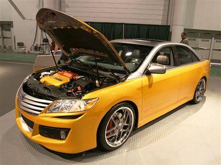 Toyota Camry Custom Paint