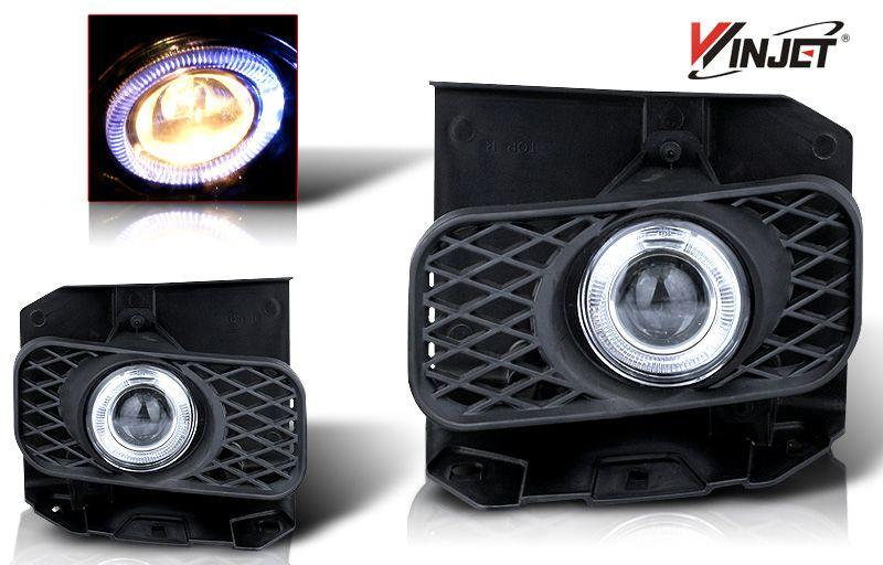 Ford F150 Xl/Xlt/Lariat 19992004 Clear Halo Projector Fog