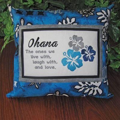 Hawaiian Ohana Family Embroidered Hawaiian Quotes Hawaiian Homes Ohana