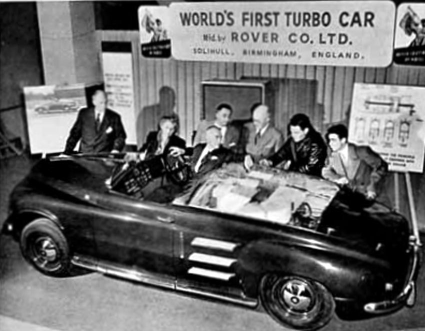 World\'s First Experimental Turbo-Jet Car manufactured by Rover ...