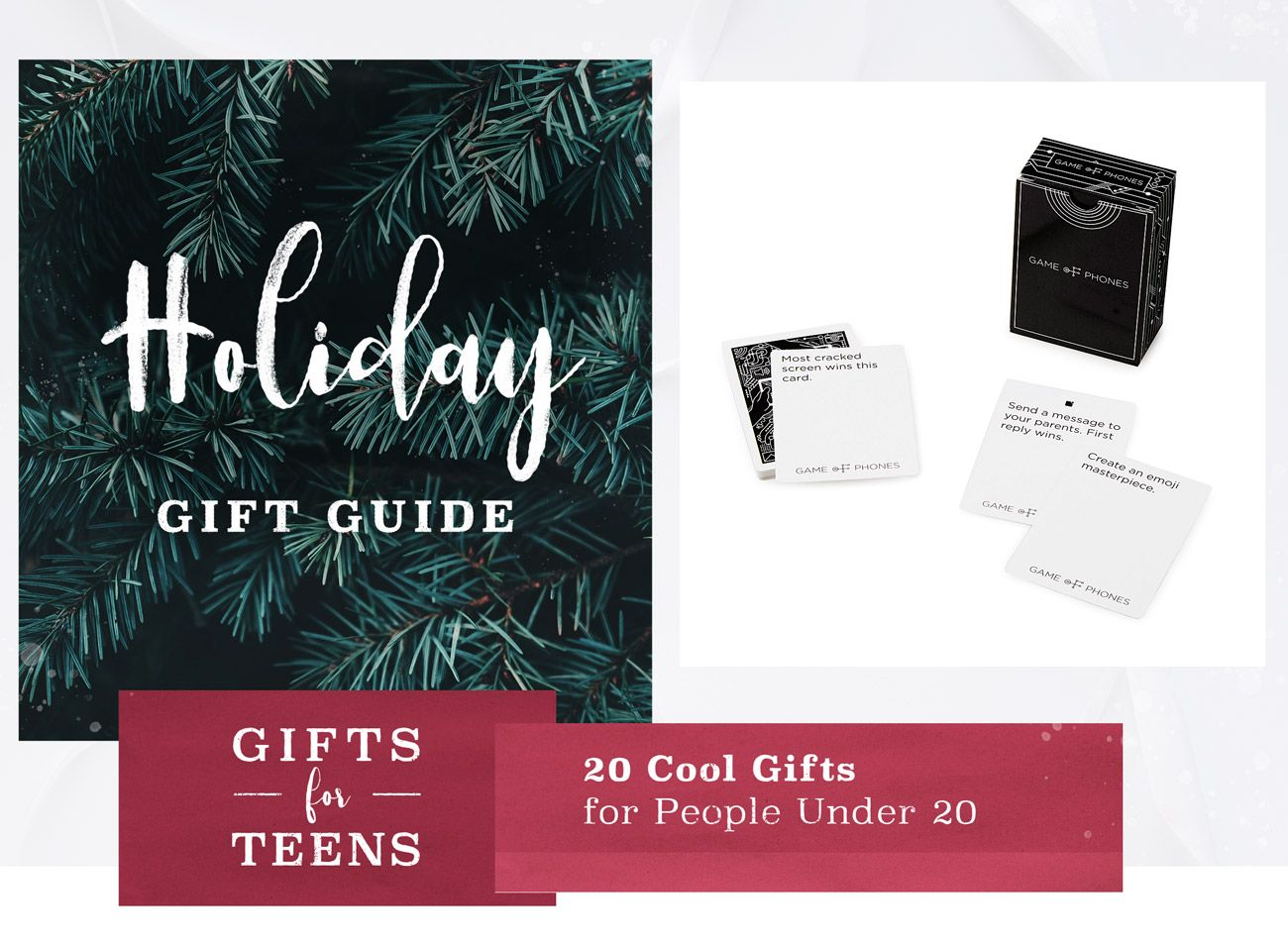 Gifts for Teens: 20 Cool Gifts for People Under 20 - | Pinterest | Teen