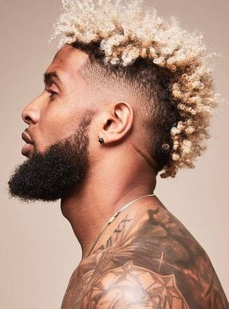 Odell Beckham Jr Hair 2020 : odell, beckham, Corte, Cabelo, Masculino