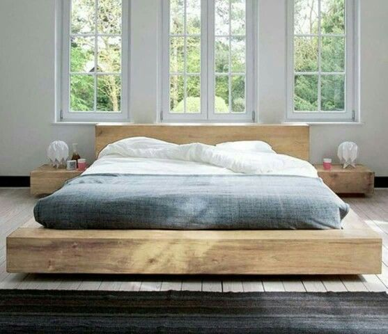 Timber bed …   Projects to Try   Queen…