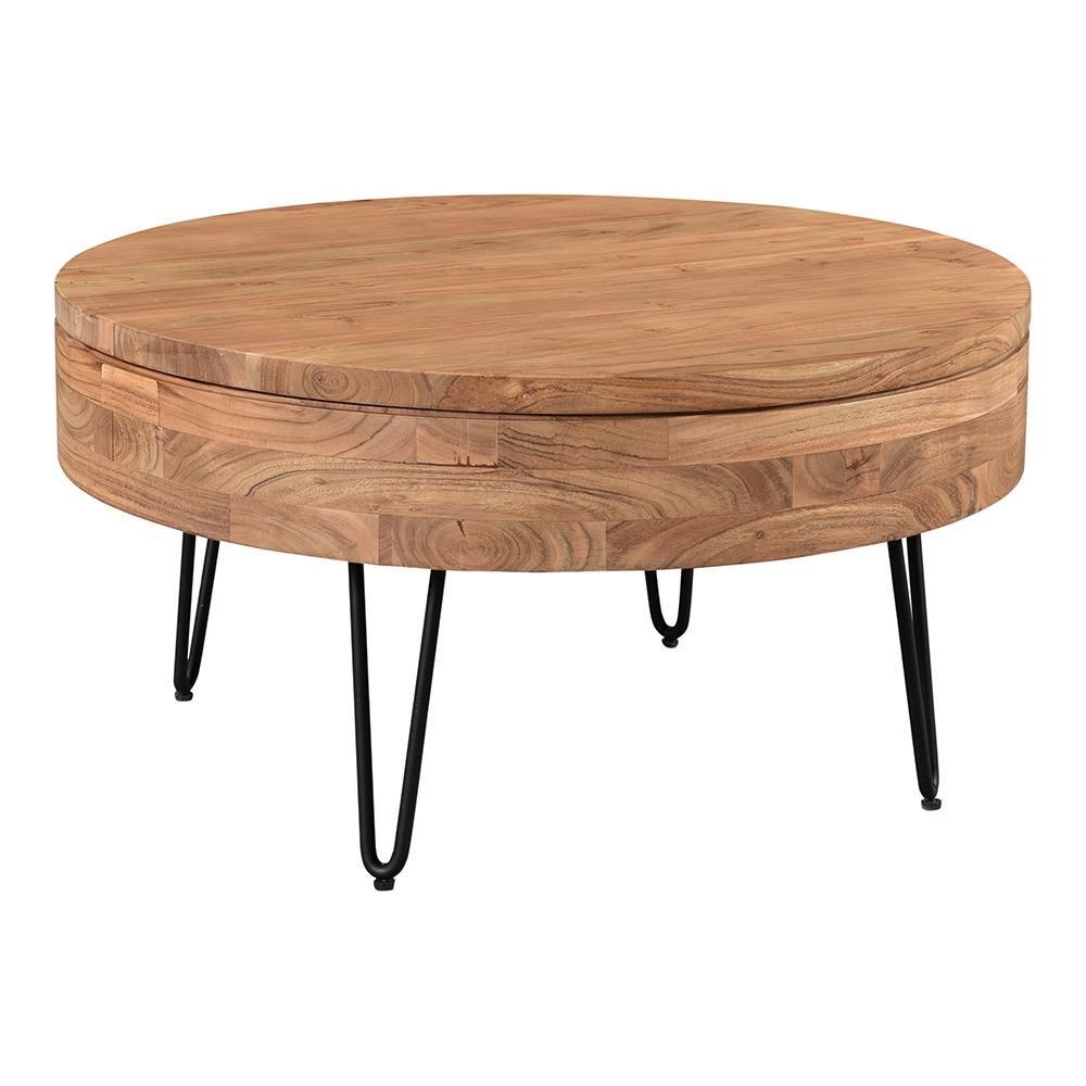 Contemporary Modern Privado Storage Coffee Table Round Wood Top Coffee Table In 2021 Coffee Table Coffee Table With Storage Solid Wood Coffee Table [ 1000 x 1000 Pixel ]