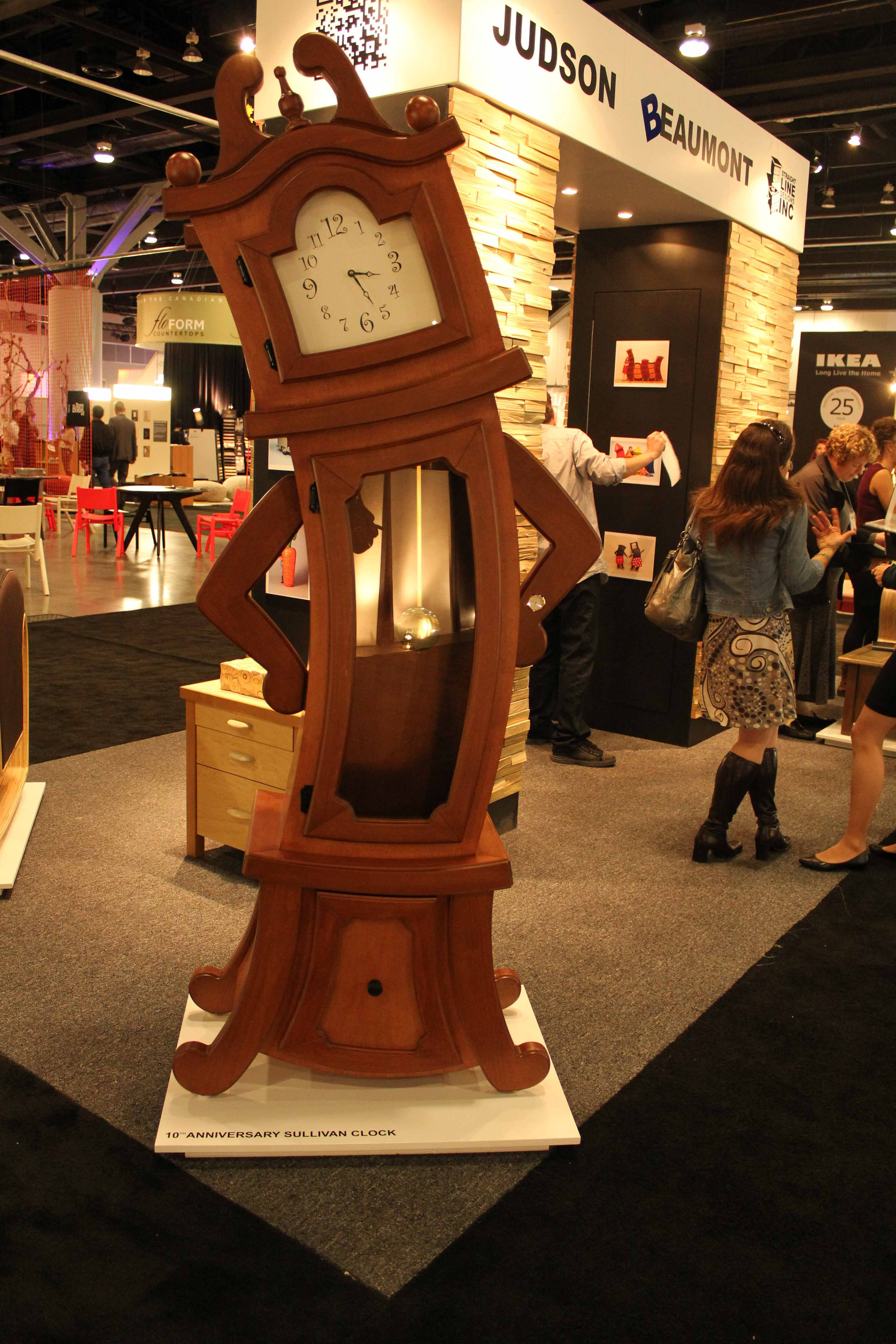 10th anniversary sullivan grandfather clock by straight - Beauty and the beast bedroom furniture ...