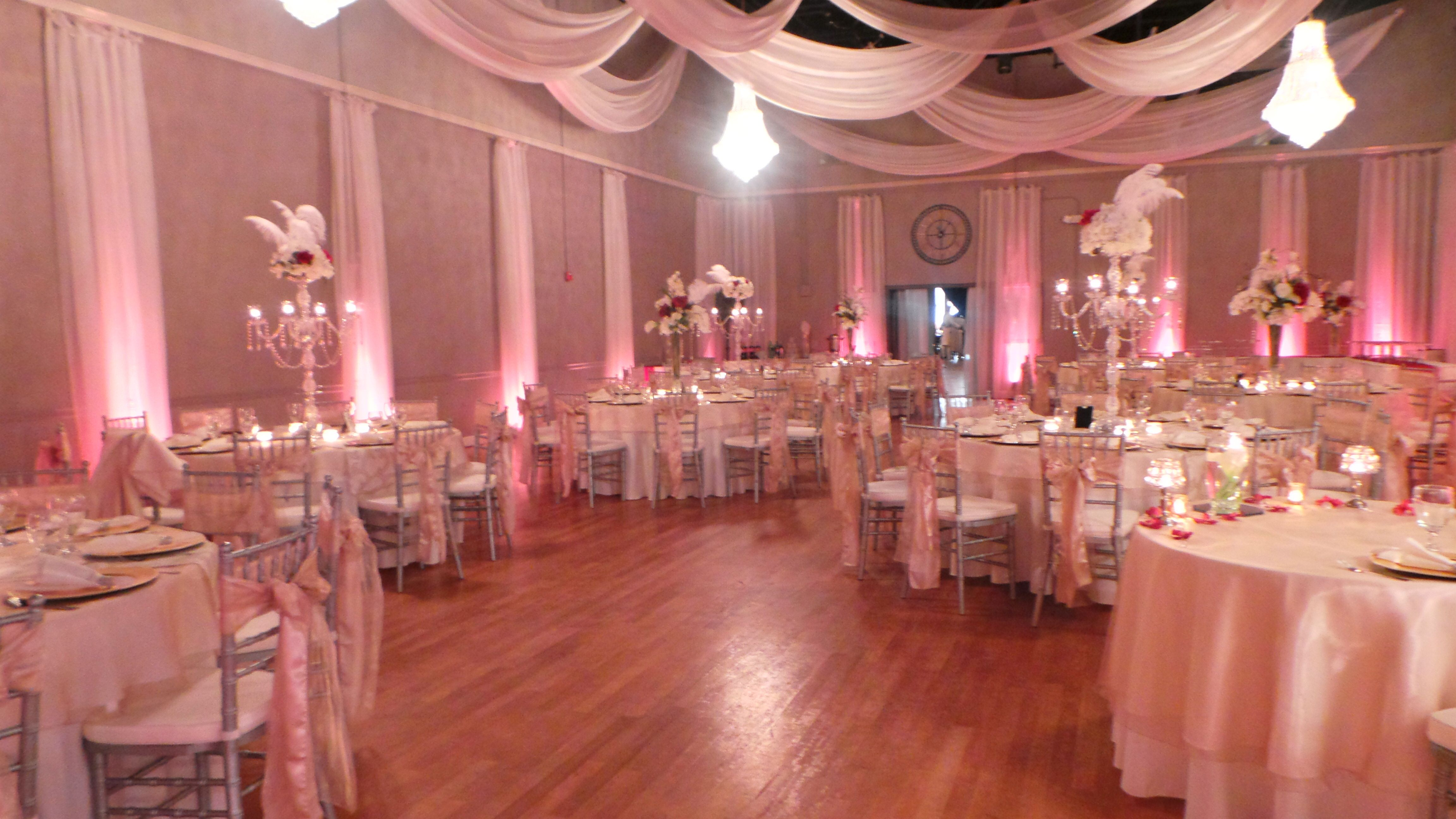 Stunning reception at The Crystal Ballroom in Orlando #wedding ...