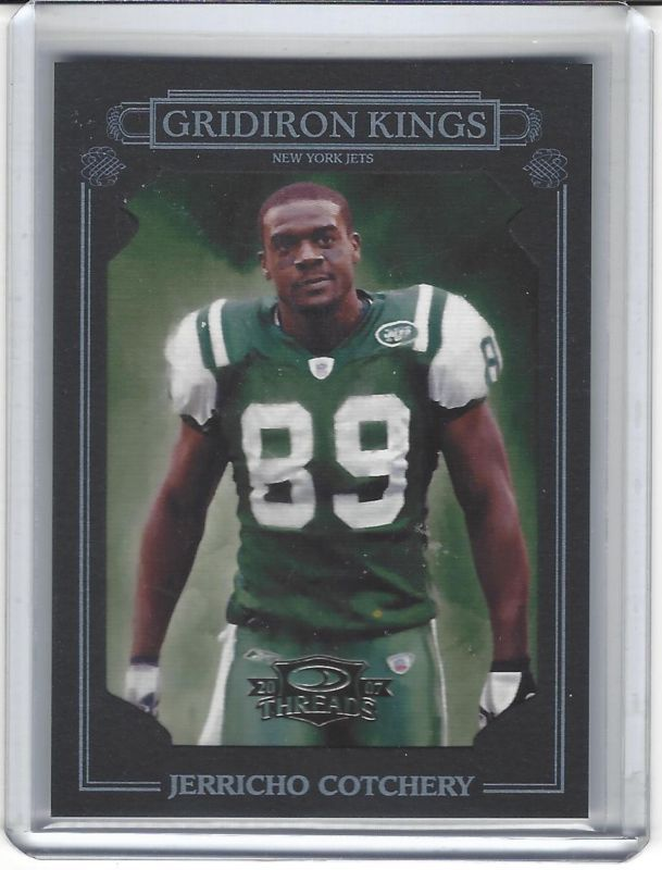 Jerricho Cotchery New York Jets Serial Numbered 10 / 10