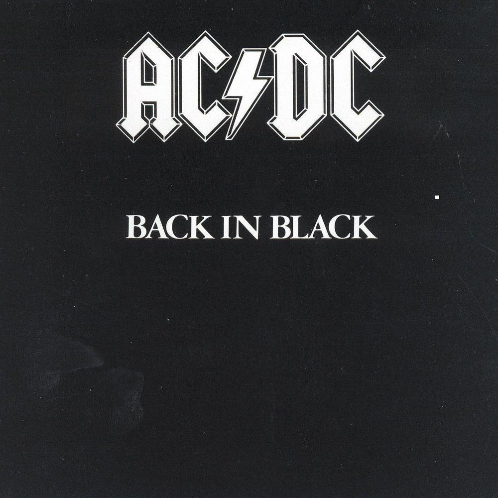 Acdc Back In Black Vinyl Rock Album Covers Acdc Albums