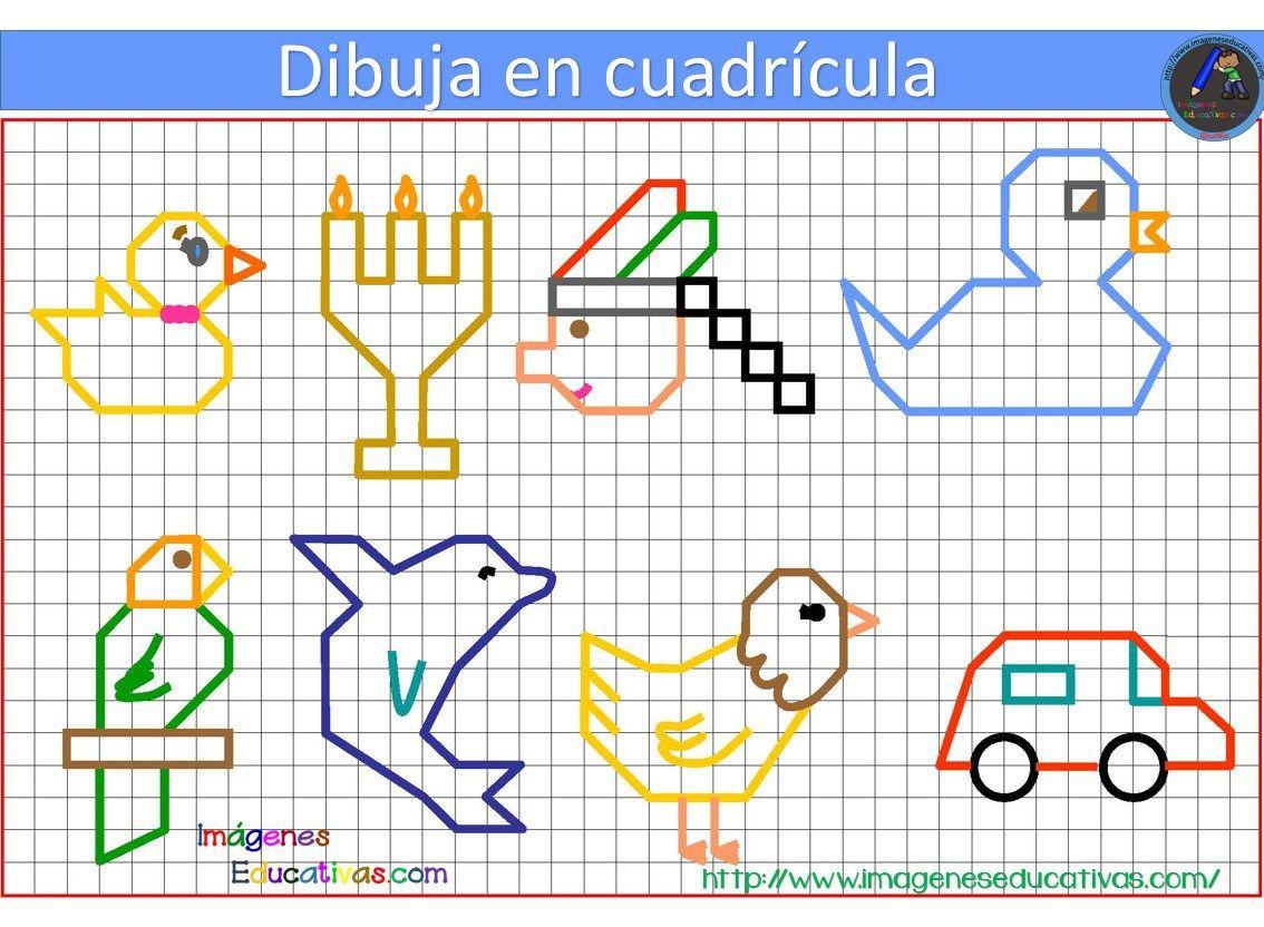 Dibujos Con Cuadricula Para Ninos Dibujos En Cuadricula Cuadricula Para Dibujar Cuadricula