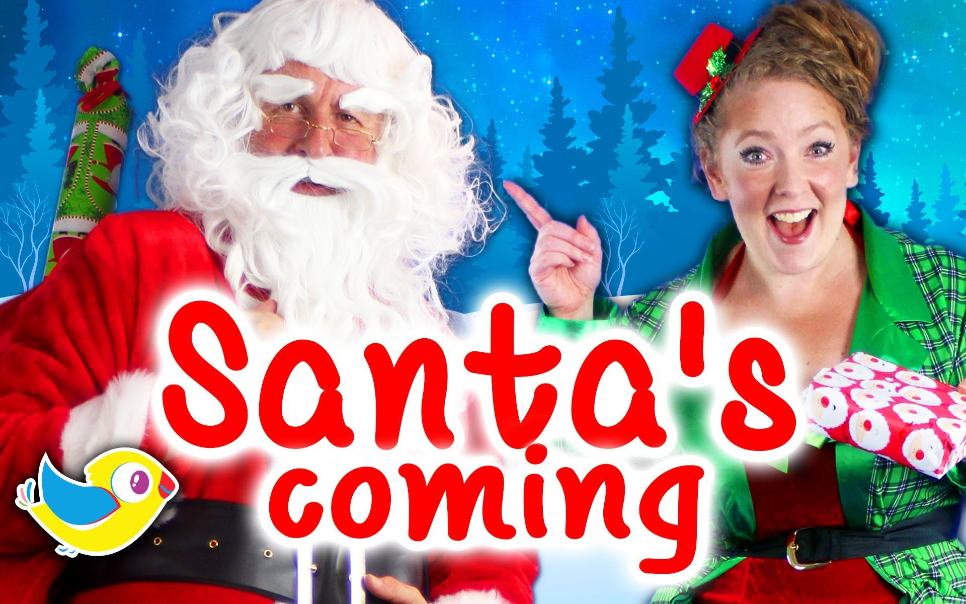 Santa's Coming - Kids Christmas Song - Bounce Patrol