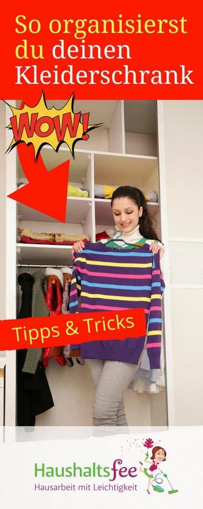 checkliste kleiderschrank aufr umen neu organisieren organisation kleiderschr nke und haushalte. Black Bedroom Furniture Sets. Home Design Ideas