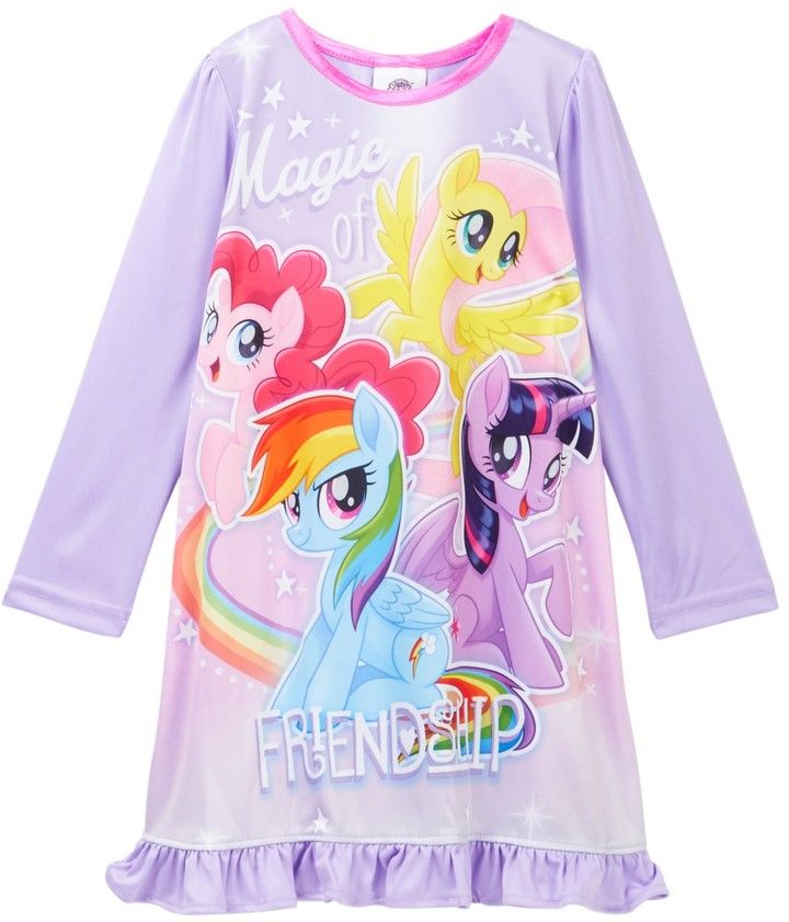 My Little Pony Girls Magical Friends Nightgown