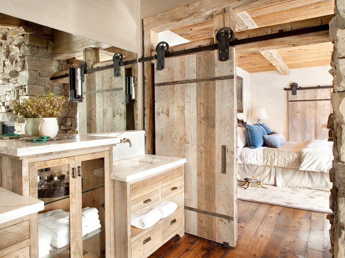Add A Rustic Touch To Your Home With A Sliding Barn Door