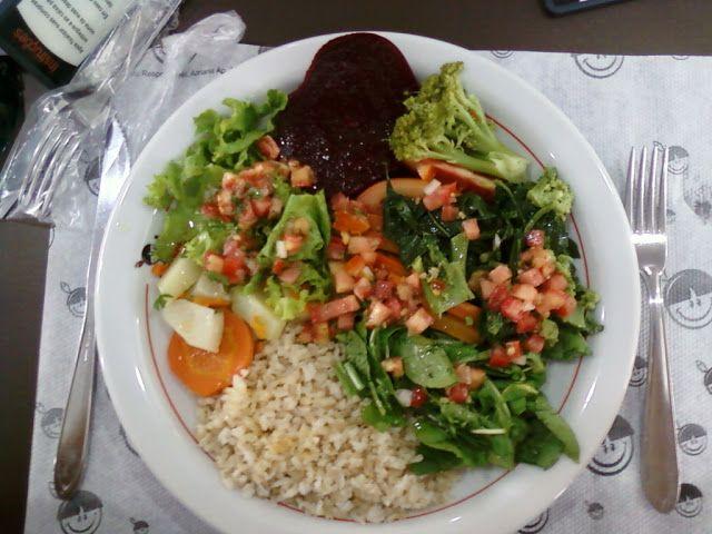 Meu Almoços na reeducação Alimentar