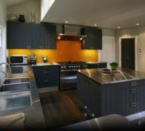 Moderne Küche in G-Form – hier ist Ihnen ein tolles Kocherlebnis garantiert