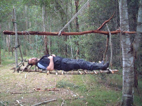 Tree Swinging Shelter: Tested!