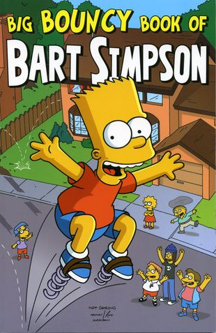 Big Bouncy Book Of Bart Simpson Bart Simpson
