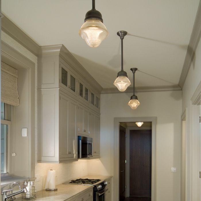 Vintage originals lighting portfolio vintage holophane for Galley kitchen light fixtures