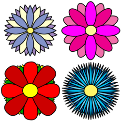 Flower Sketches Draw Flowers Easily Flower Drawing Simple Flower Drawing Flower Sketches