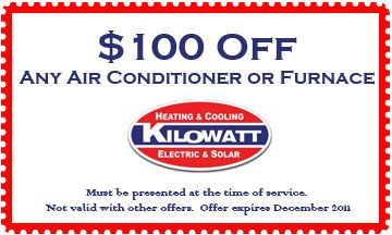 Coupon For Los Angeles Air Conditioning Installation 100 Savings From Kilowatthvac Com Electricite Generale Electricite Generale