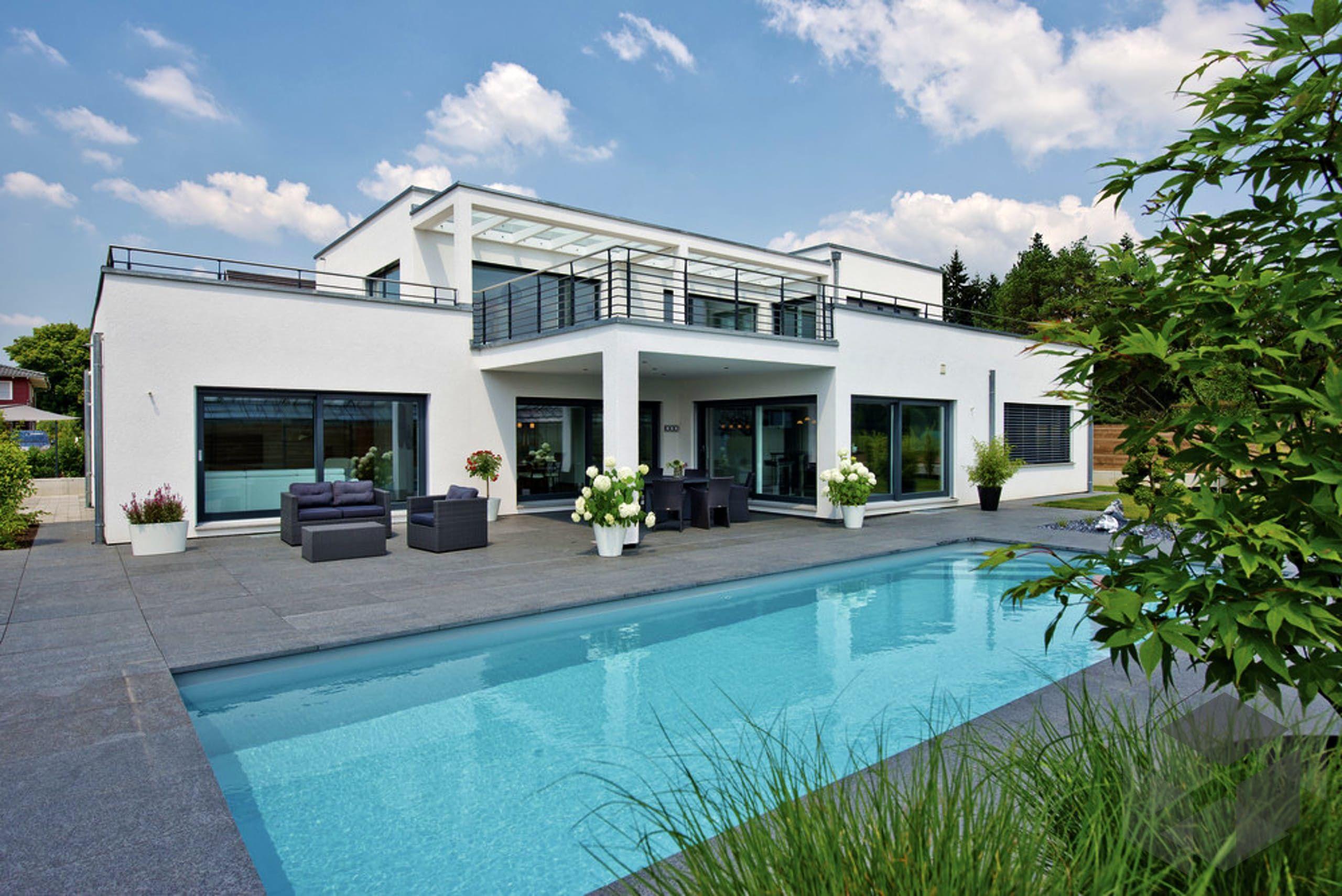 Kubushuas Mit Pool Von Weberhaus Alle Infos Zum Haus Mit Einem