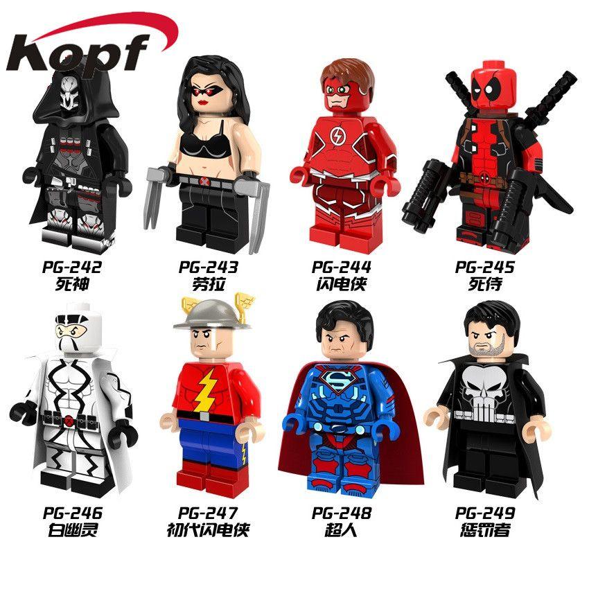 1pcs Model Building Blocks Action Figure Starwars Superheroes Deadpool Kids Kits Classic Ideas Diy Toys For Children Gift Model Building Toys & Hobbies