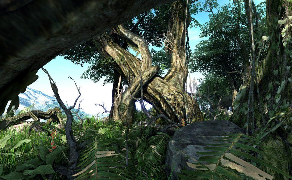 Final Fantasy Scenery HD Wallpaper