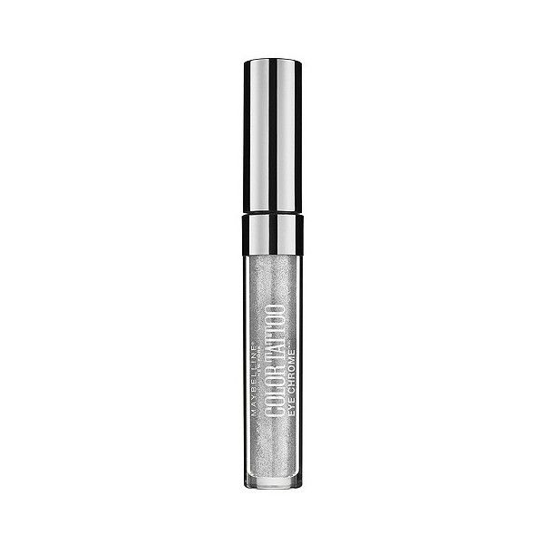 Maybelline Eye Studio Color Tattoo Liquid Chrome Shadow  Silver Spark (£6.06) ❤ liked on Polyvore featuring beauty products, makeup, eye makeup, eyeshadow, silver spark, glossy eyeshadow, shiny eyeshadow, maybelline, maybelline eyeshadow and maybelline eye makeup