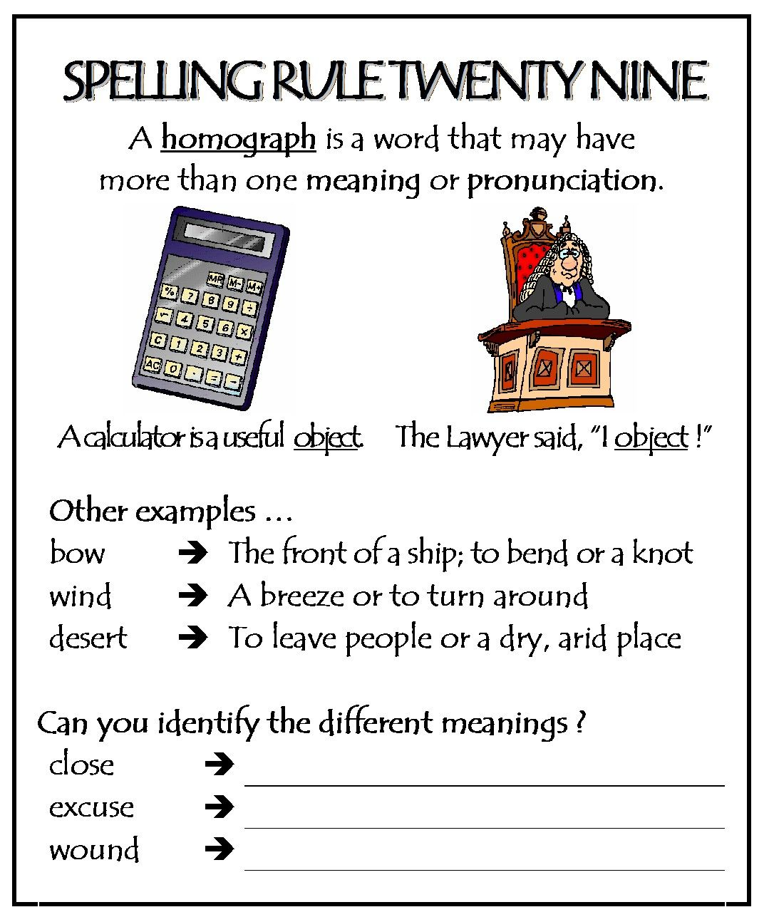 Pin On English Spelling Rules