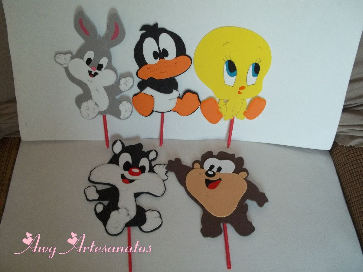 Placa dos Baby Looney Tunes Eva  Looney tunes